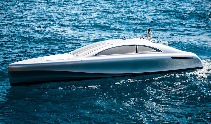 Amazing Mercedes-Benz Yacht