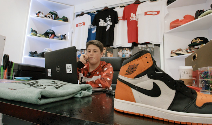 The Teen Sneaker Dealer to the Rich and Famous