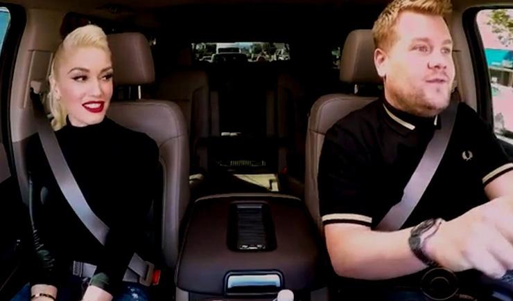 Gwen Stefani Carpool Karaoke with Surprise Guests
