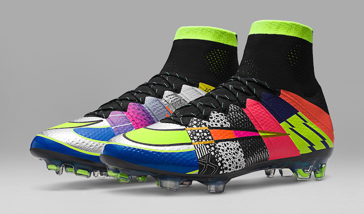 "Nike's ""What the Mercurial"" Celebrates the History of the Football Boot"