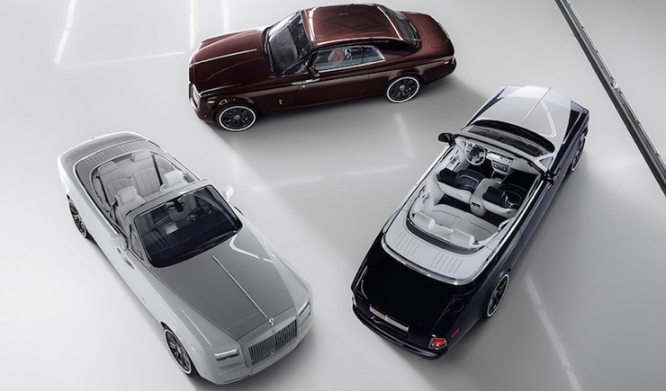 """The Rolls-Royce's Phantom """"Zenith"""" Collection is Its Most Luxurious Yet"""
