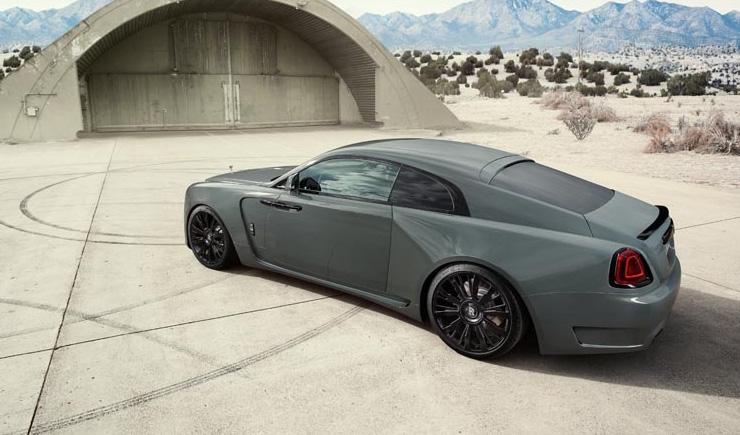 """SPOFEC Rolls-Royce Wraith """"Overdose"""""""
