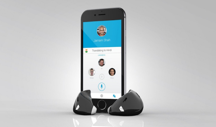 Goodbye, language barriers, this Earpiece Translates Languages for You in Real Time