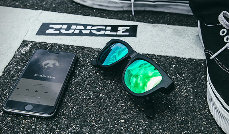 Zungle Bone Conduction Audio Shades