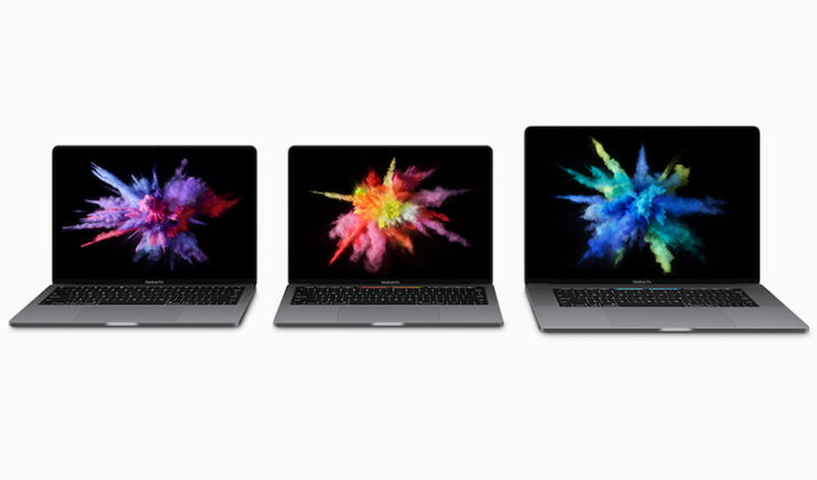 Apple Unveils New MacBook Pro With OLED Touch Bar and Touch ID