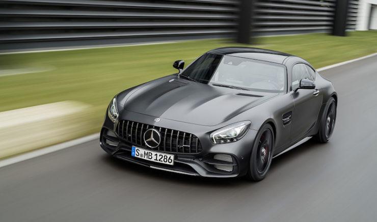 Mercedes-AMG Unveils 2018 GT C Edition 50