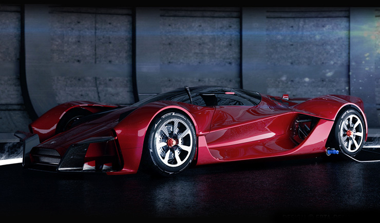 The Dendrobium Electric Hypercar Takes Badassery to the next Level