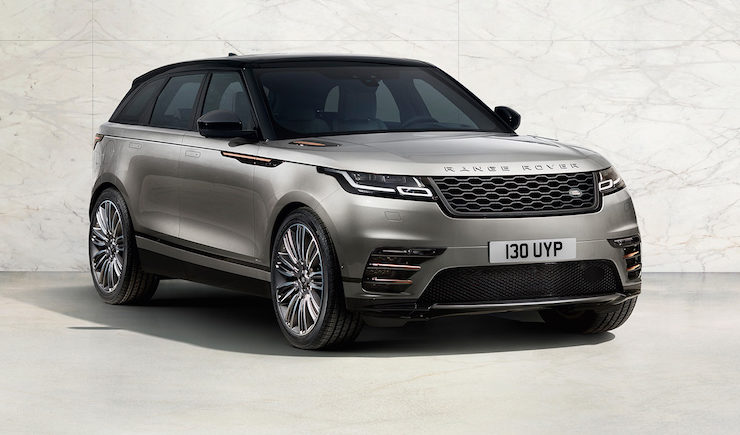 Land Rover Officially Reveals the 2018 Range Rover Velar