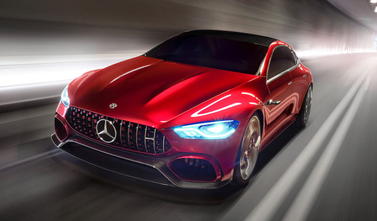 Mercedes-AMG Introduces 4-Door GT Concept