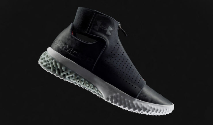 Under Armour Reveals 3D-Printed ArchiTech Futurist Sneaker