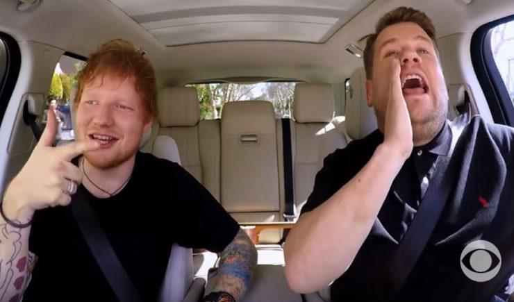 "Ed Sheeran Talks Getting Drunk With Justin Bieber & More in Hilarious ""Carpool Karaoke"""