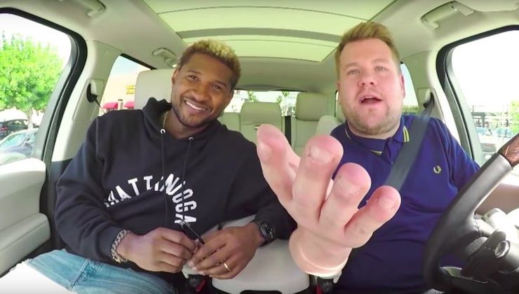 Usher Teach James Corden Some Moves on 'Carpool Karaoke'