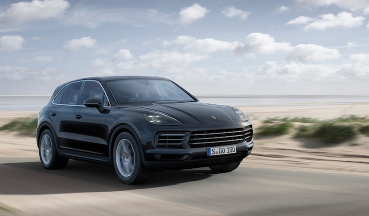 The new Porsche Cayenne in motion