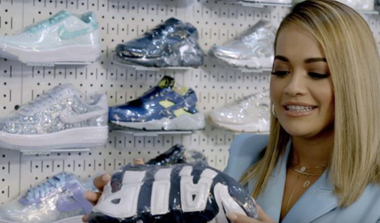 Rita Ora Goes Sneaker Shopping With Complex