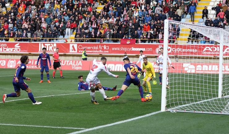 Highlights Cultural Leonesa vs FC Barcelona B
