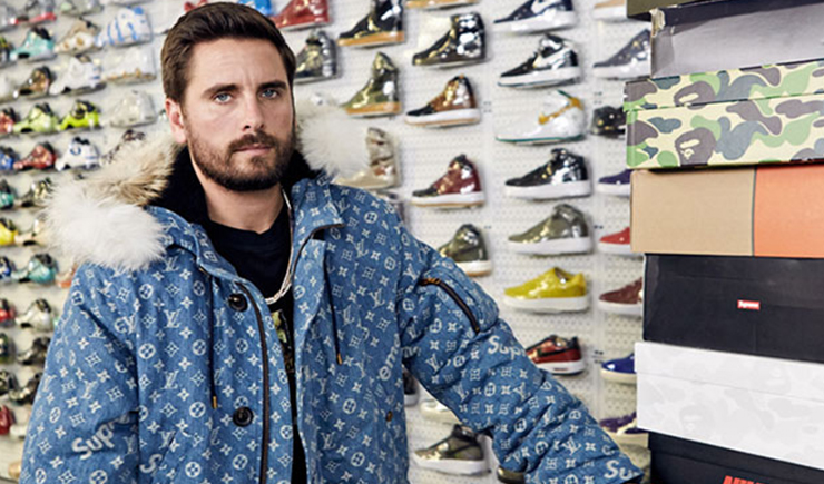 Check Out Scott Disick Sneaker Shopping With Complex