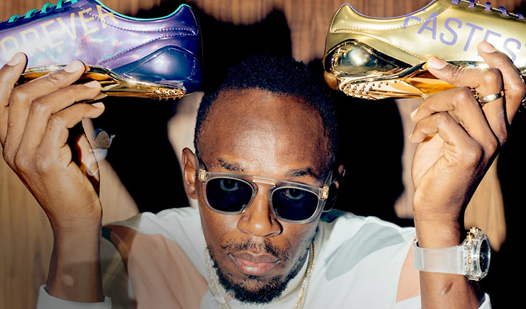 Sneaker Shopping with Usain Bolt