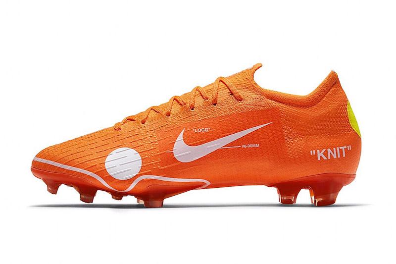 7d4a7b16a8 OFF-WHITE x Nike Mercurial Vapor 12 Elite Soccer Boot - Gianni ...